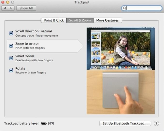 いくつ使いこなしてる? MacBookトラックパッドの14ジェスチャー一覧