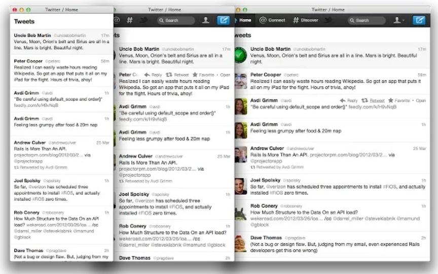 Twitterウェブをレスポンシブ化させるChrome拡張機能「Paridae」