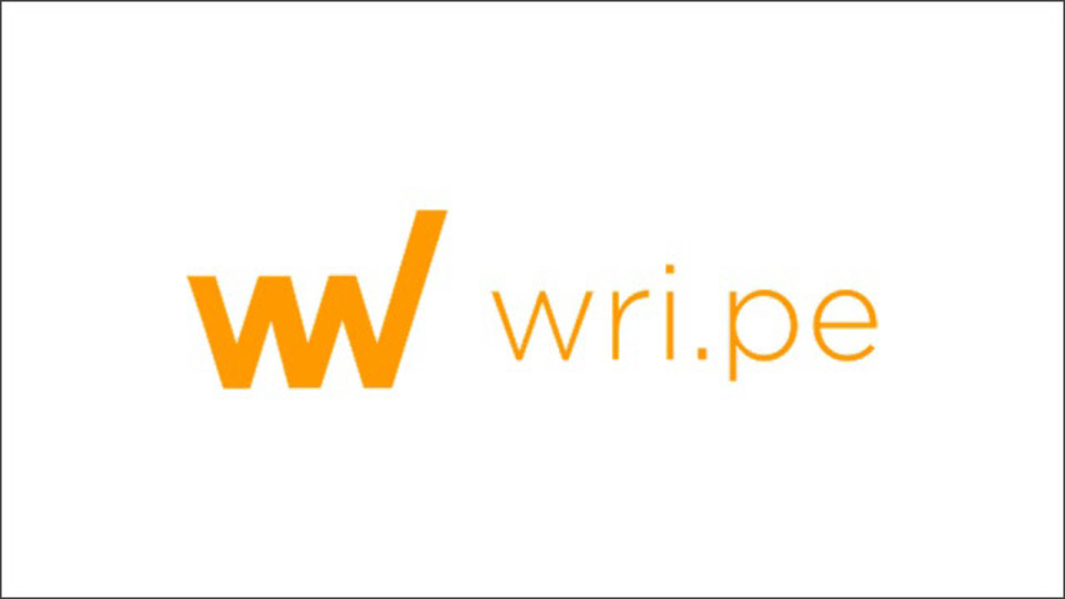【これは便利】シンプルなオンラインメモ帳サービス「wri.pe」