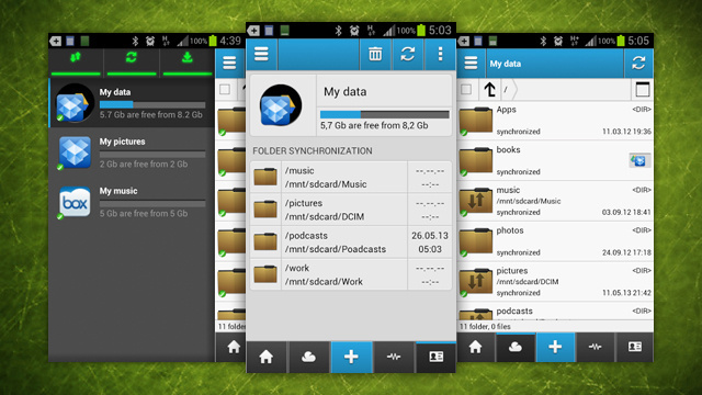 複数のクラウドストレージを一括管理できる無料Androidアプリ『CloudCube』
