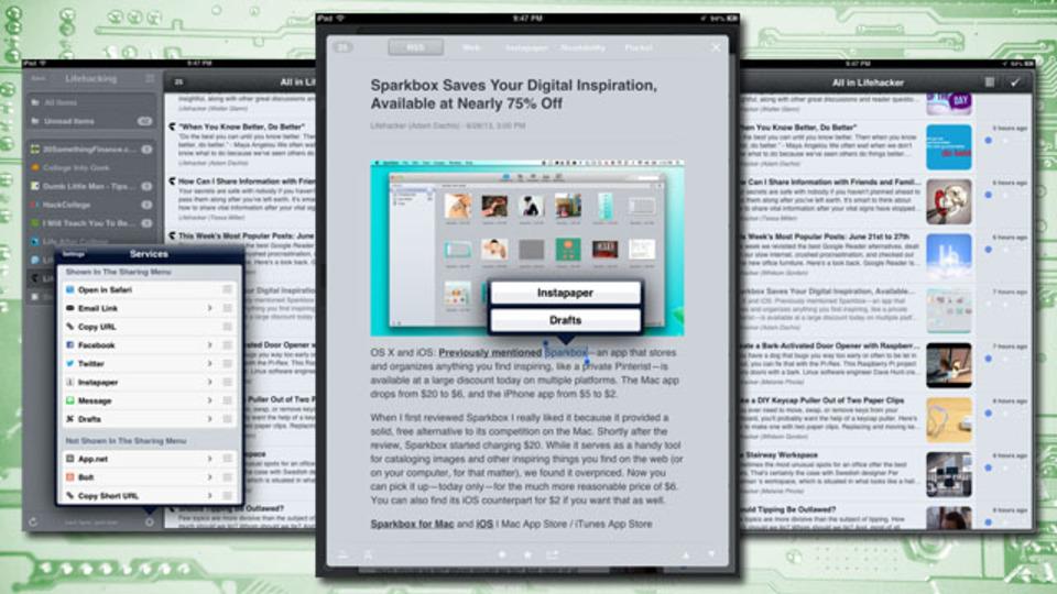 まだ間に合う...! iPadでRSSを使うなら『Mr. Reader』が最強