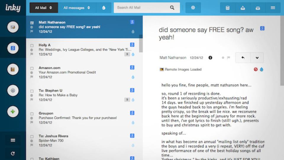 無料メールソフト『Inky』がシンプル・スマートで使いやすい!