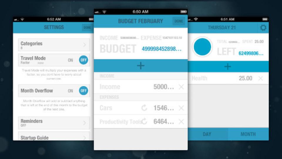 管理方法もデザインも極シンプルなiPhoneの家計簿アプリ『BUDGT』