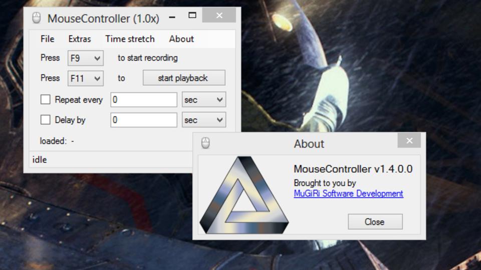 マウスアクションの記録・自動化なら『MouseController』