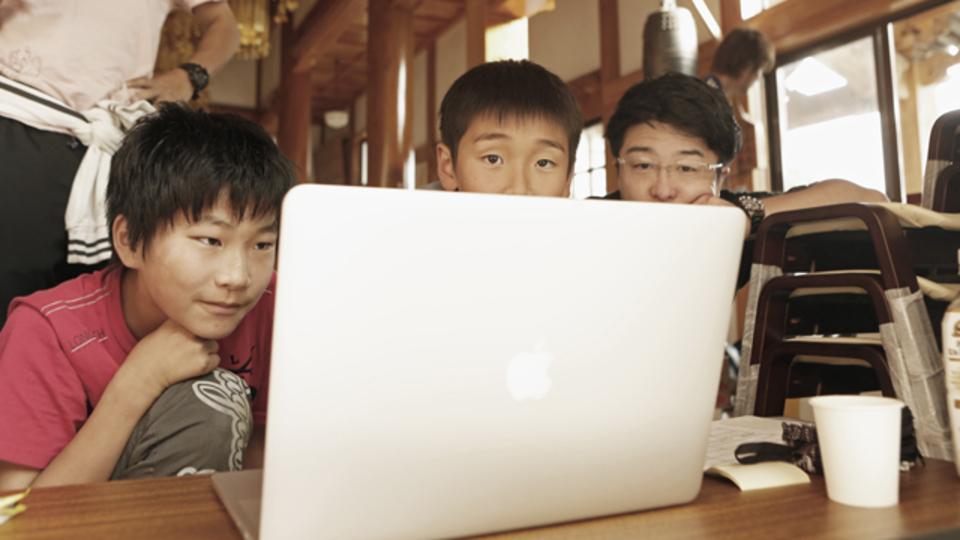 Macbookを操る小学生:ハッカソン開催など、今石巻のITが熱いかもしれない
