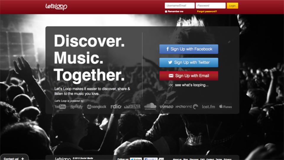 音楽ストリーミングサービスとソーシャルネットワークの架け橋:Let's Loopで音楽ライフを充実させる