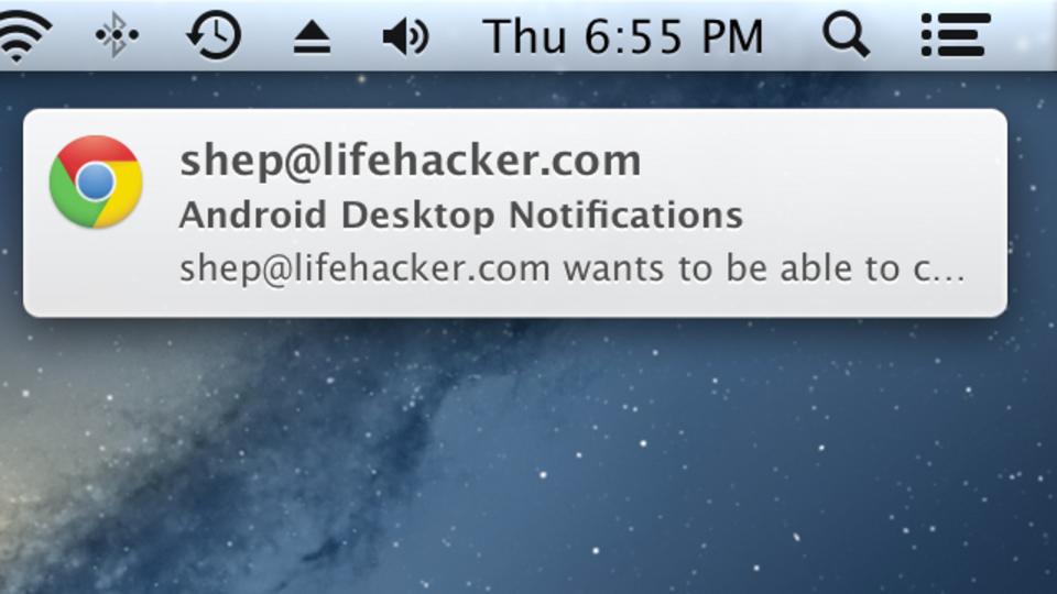 Android端末の通知をPCに表示する『Desktop Notifications』