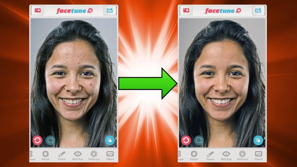 直感的な操作でパワフルに補正! 顔専用のレタッチアプリ『Facetune』