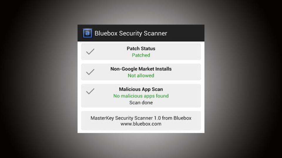 「99%のAndroidにあるセキュリティホール」が修正されているかをチェックできるアプリ