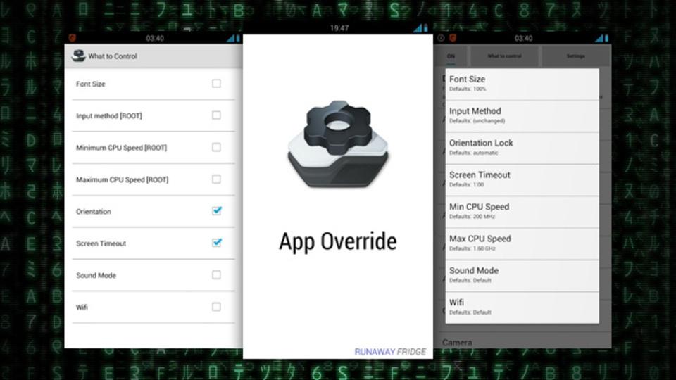 「Kindleのフォントを小さめに」など、アプリごとに設定を変えられるツール『App Override』