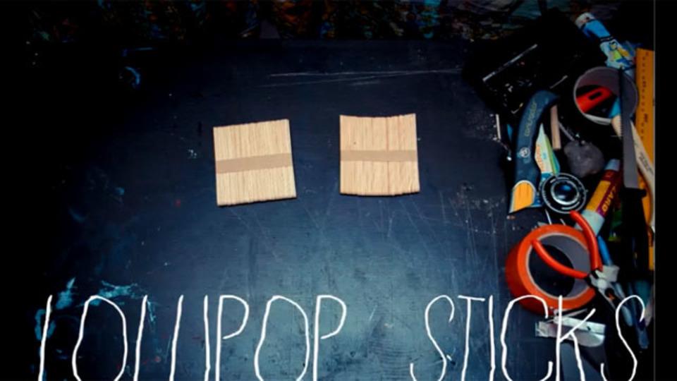 ポラロイドに捧げる、アイス棒で作るインスタントカメラの作り方