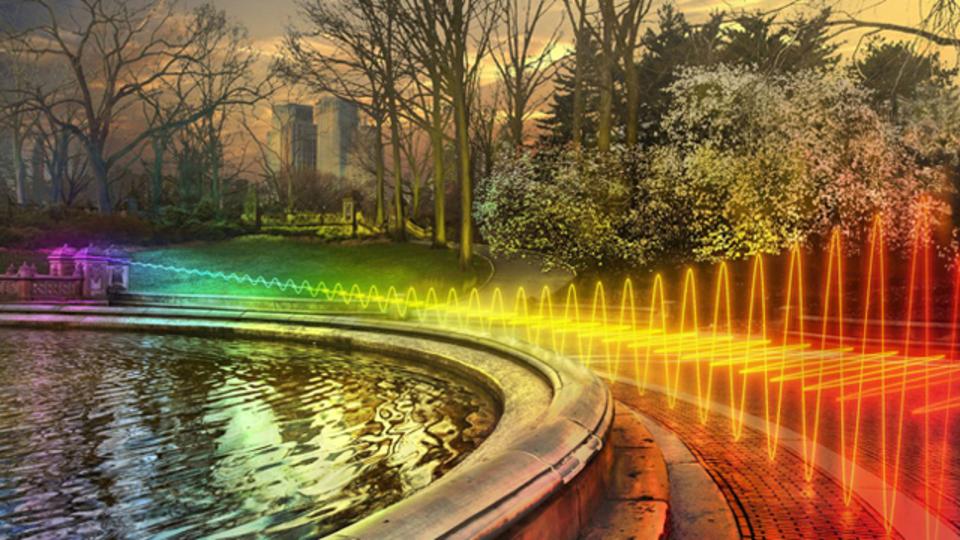 街中に飛び交うWi-Fiを可視化すると、世界はこう見える