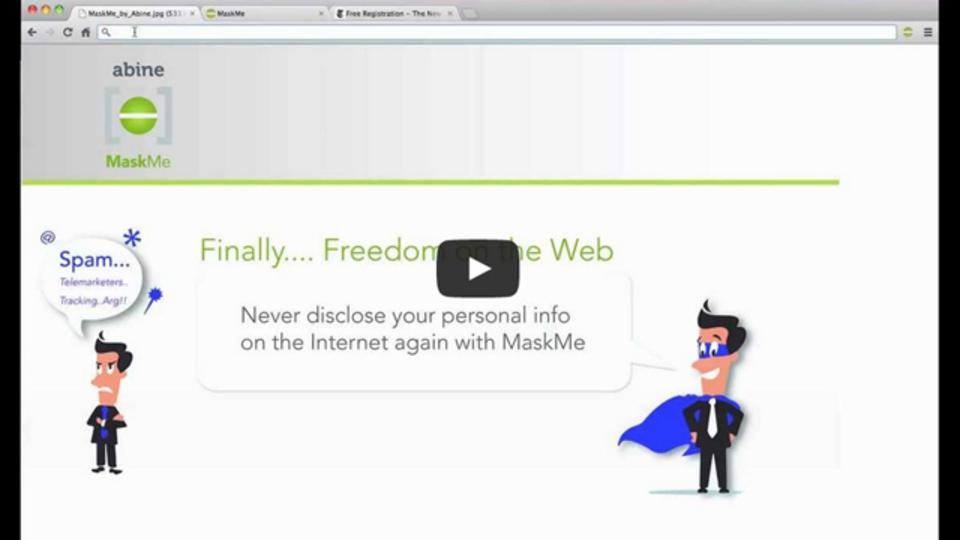 Webサイトでの個人情報入力時用にダミーアカウントを作る「MaskMe」:なんとクレジットカード番号まで