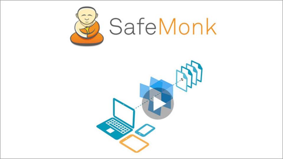 Dropboxにアップロードする前にファイルを暗号化してくれる『SafeMonk』
