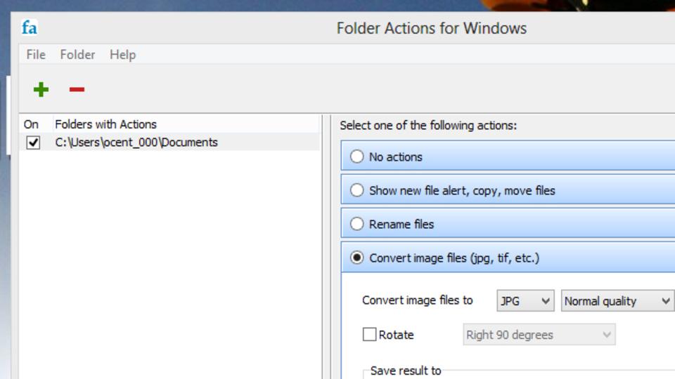 Windowsのアクションを自動化できる「フォルダアクション」の使い方