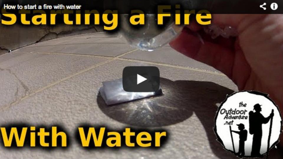 ラップと水だけで火は起こせるのか?:オトナの自由研究