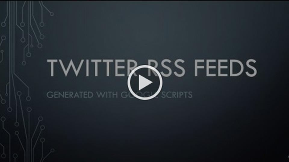 サポートが終わってしまった今、TwitterのRSSフィードを取得する方法