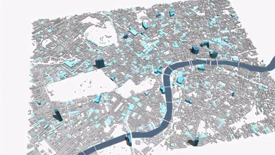 ツイートを可視化してマッピングすると、街の見え方はこう変わる