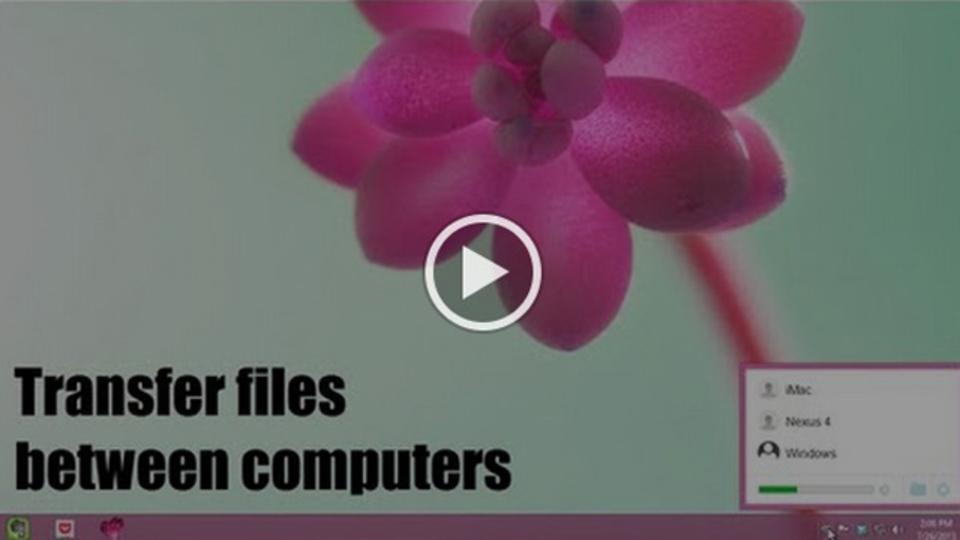 Wi-Fiを使って複数のコンピュータ間で簡単にファイルをやり取りする方法