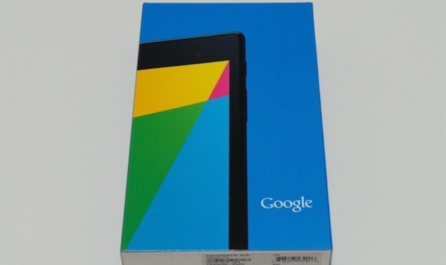 2013年モデルの最新「Nexus 7」を買ったので触ってみた:2012年モデルから全方位で進化!