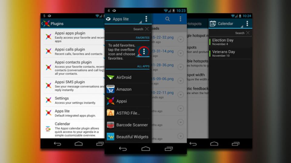 ランチャーだけが全てじゃないんだ! サイドバーを複数Android端末に追加できる『Appsi』が便利すぎる