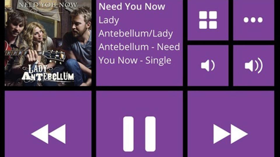 Windows 8風インターフェイスが使いやすいiOS音楽アプリ『Stezza』