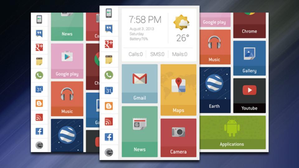 Androidって楽しいな!と思えるグリッドデザイン・ホーム画面:究極のホーム画面を求めて