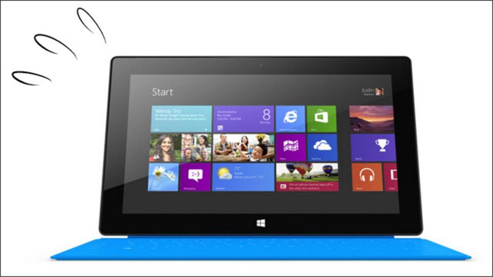 Surface RTをキャッシュバック付で購入できます。そう、iPadオーナーならね