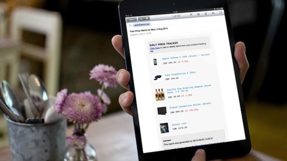 気になるあの製品は今いくら!? Amazon上での価格推移をレポートするGoogleスクリプト『Price Tracker』