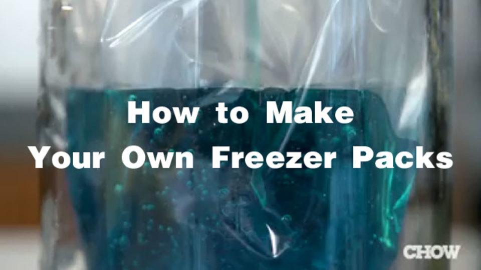 食器用洗剤を冷凍庫にいれると「保冷剤」になる