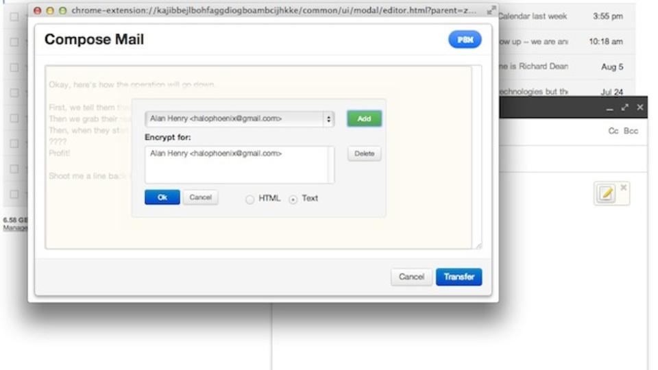 GmailなどWebメールの暗号化には『Mailvelop』が便利