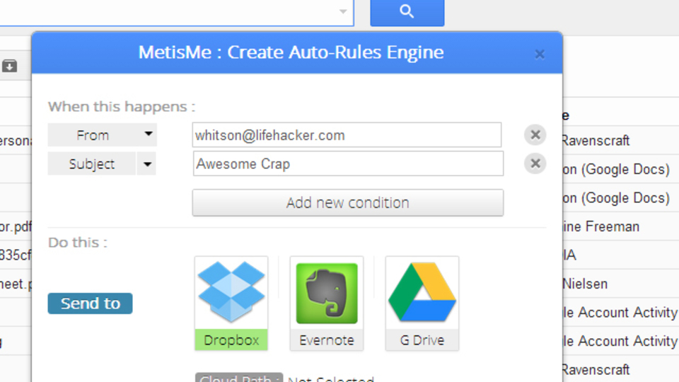 Gmailの添付ファイルをまとめて管理するためのChrome拡張機能『MetisMe』