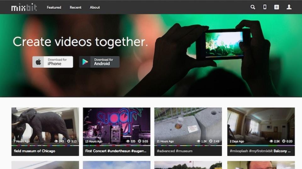 YouTube創業者が開発した新ビデオアプリ『MixBit』は創造的なビデオを生み出す場となるか?