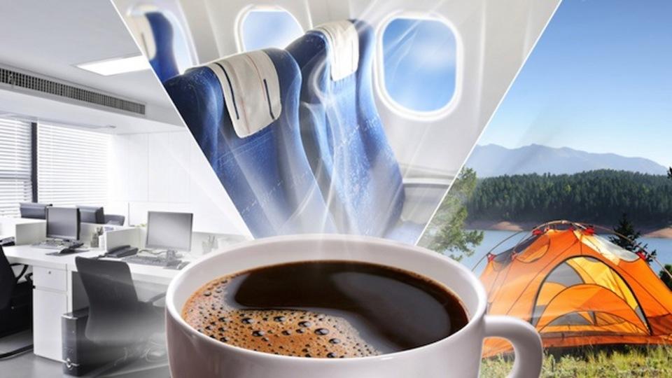 米海軍出身のコーヒー通が説く「外出先でおいしいコーヒーを淹れる方法」