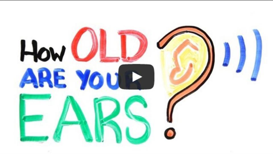 あなたの聴力は年相応? このビデオを再生してテストしてみよう