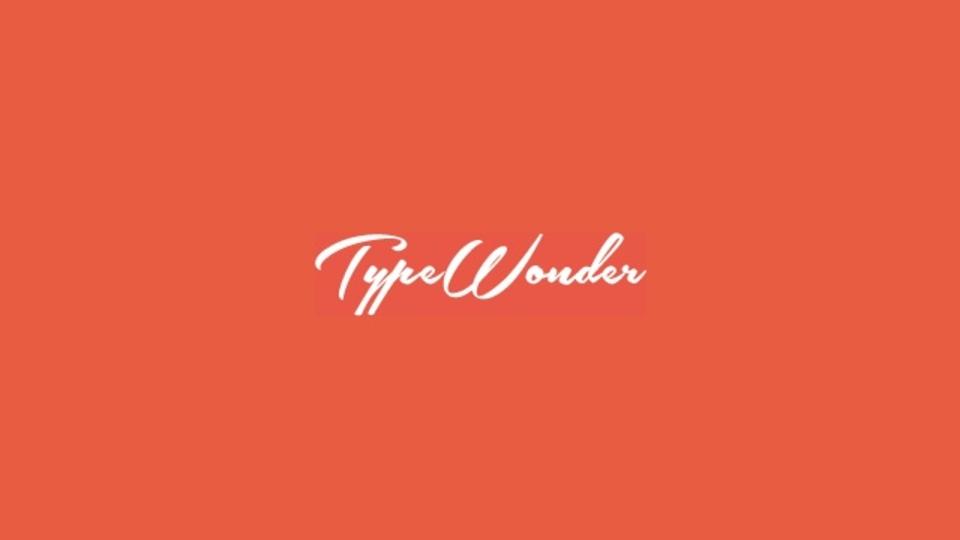 自分のブログにWebフォントを適用できるサイト「TypeWonder」