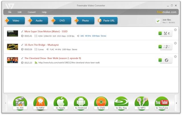 Freemake Video Converter(Windows)