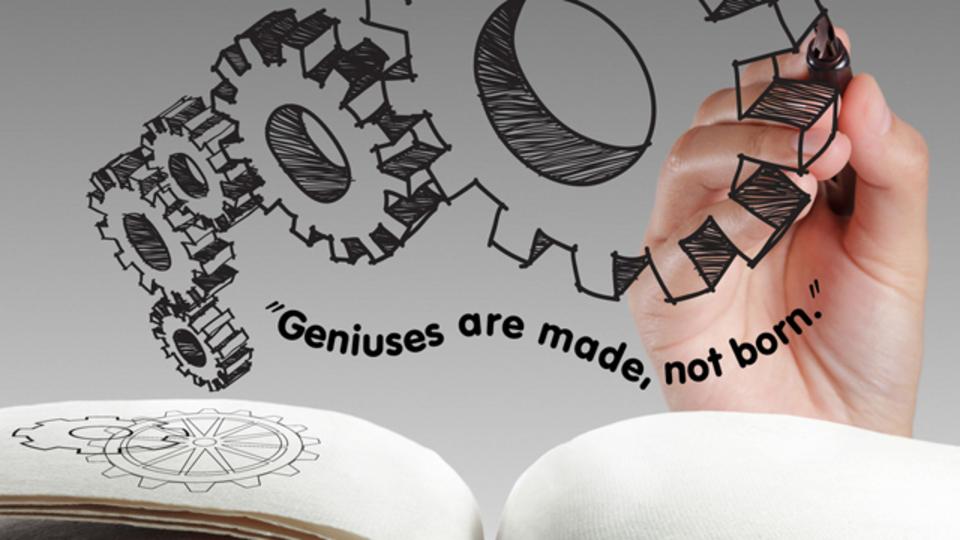 天才を育てる3つの条件:自分を理解する、自分を律する、ひたすらな努力