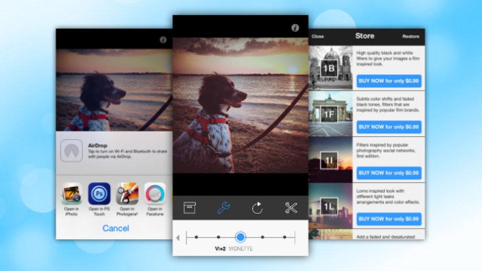 iOS 7の美学にインスパイアを受けた次世代カメラアプリ『HelloLab』