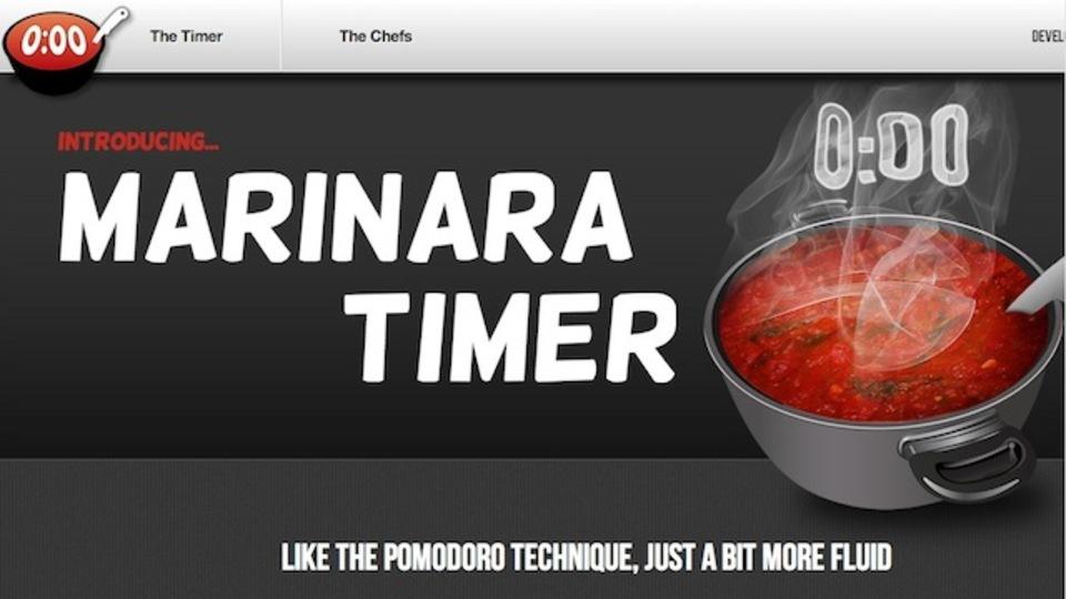 タイマーを使って生産性を向上させたい人のためのツール「Marinara Timer」