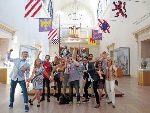 Museum Hackツアーのグループ