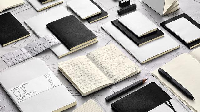 「もう1冊」にぴったりな真っ白&真っ黒。モレスキンのヴォランノートブックに新色追加