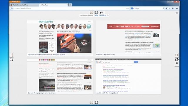 Firefoxの新規タブのサムネイルグリッドをカスタマイズできる『New Tab Pro』