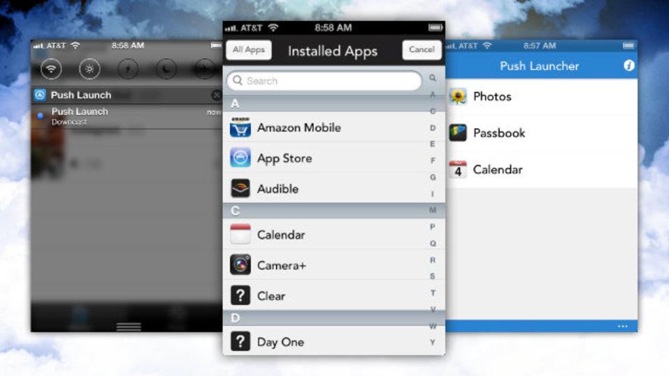 これでiPhoneの通知センターからもアプリが開ける!『Push Launcher』