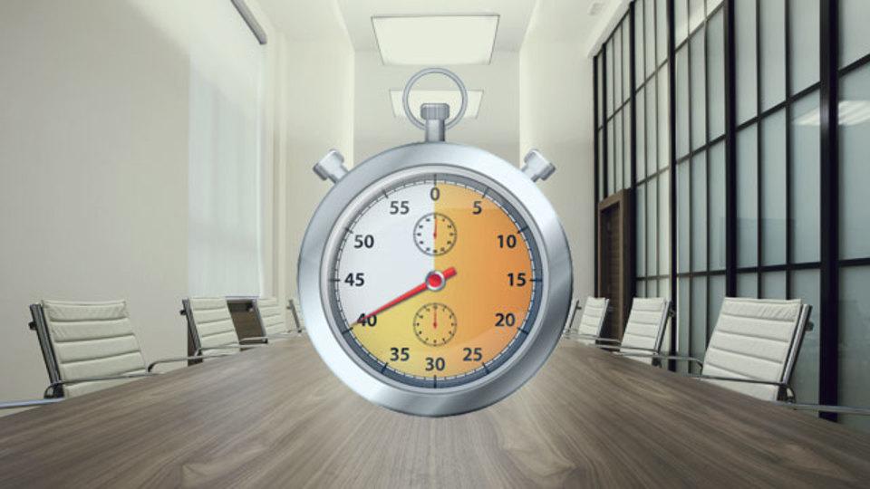 習慣づくりと心がけがあれば会議は10分で終わる