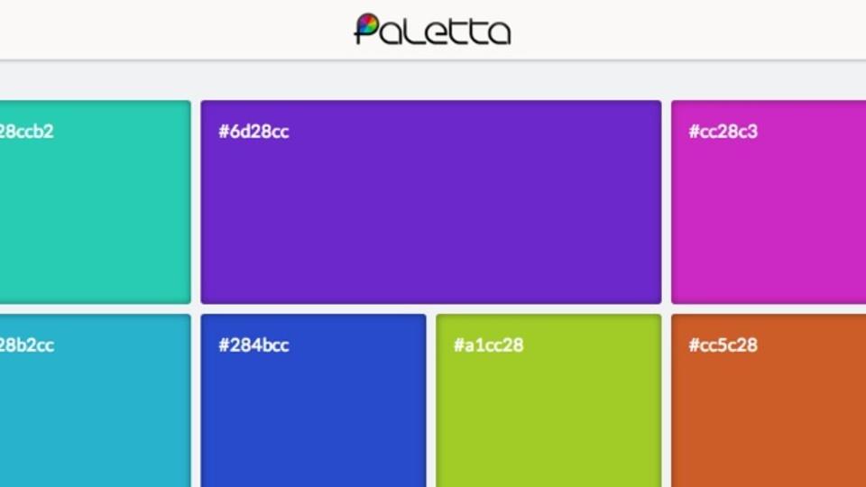 配色決めに! 調和のとれたカラーパレットを作成してくれる「Paletta」