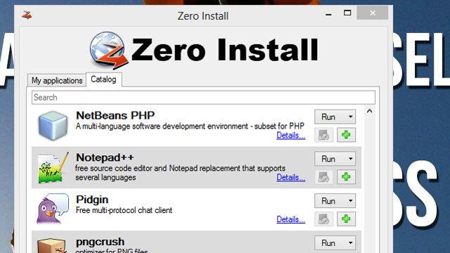 アプリのダウンロード、更新、インストールなしでの起動を可能にしてくれる『Zero Install』