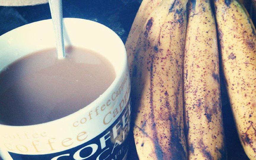 コーヒーとバナナを一緒に食べるとからだに良い理由