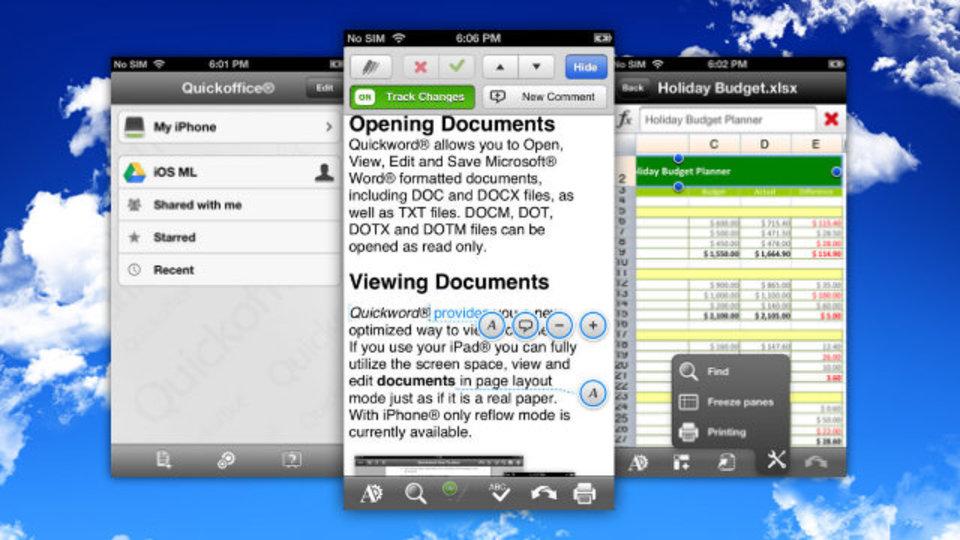使えるモバイル用オフィススイート『Quickoffice』が無料化! しかもGoogle ドライブ容量10GBアップの特典あり(9月26日まで)