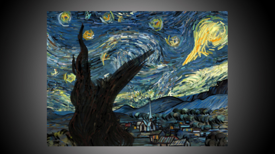 夢のような体験...ゴッホの名画「星月夜」に触れるiOSアプリ